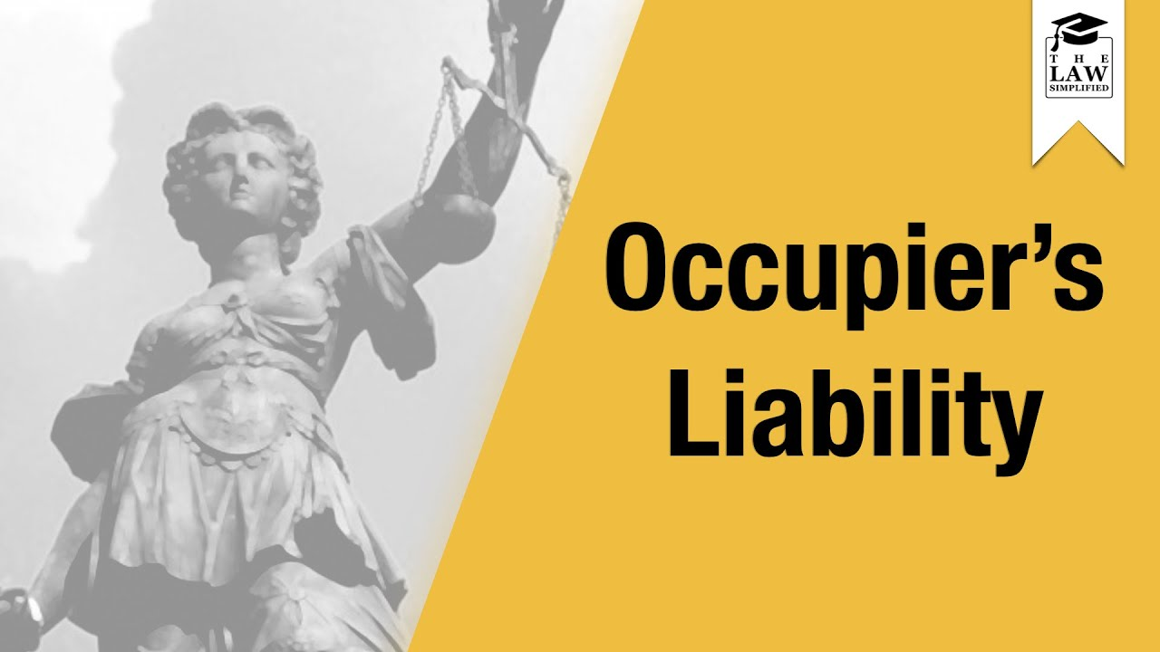 the acts of occupier s liability The electronic irish statute book (eisb) comprises the acts of the oireachtas (parliament), statutory instruments, legislation directory, constitution and a limited number of pre-1922 acts.