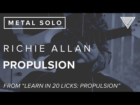 Richie Allan's Propulsion | JTCGuitar.com