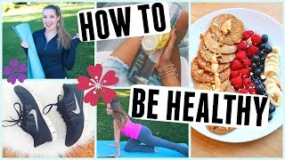 How to ACTUALLY Get Healthy in 2016!