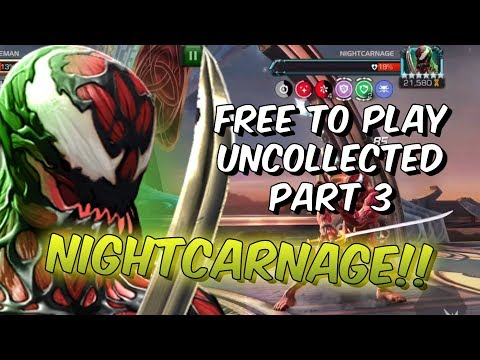 Free To Play Uncollected Difficulty Part 3 - Nightcarnage - Marvel Contest Of Champions