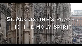 Image of St. Augustine's Prayer To The Holy Spirit HD video