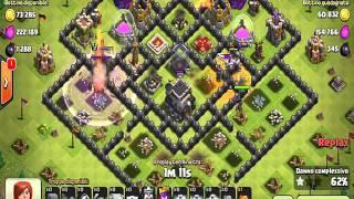 clash of clans strategia di attacco+bug