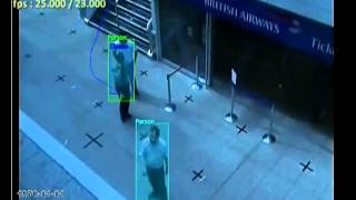 GXi Video Analytic demonstration of Advanced People Tracker feature