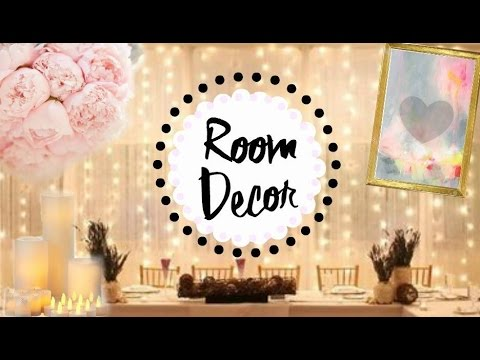Easy Teen Room Decor Ideas | Pinterest U0026 Tumblr Inspired!   YouTube