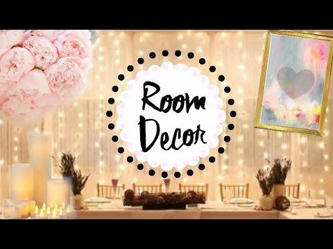 Easy Teen Room Decor Ideas | Pinterest & Tumblr Inspired!