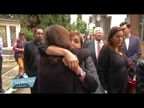 LA CUCHARA | LA CUCHARA ESTUVO PRESENTE EN LA MISA EVANGELINA ELIZONDO