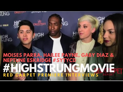 """#SYTYCD Season 12 Cast at the Red Carpet Premiere for """"High Strung"""" #HighStrungMovie"""