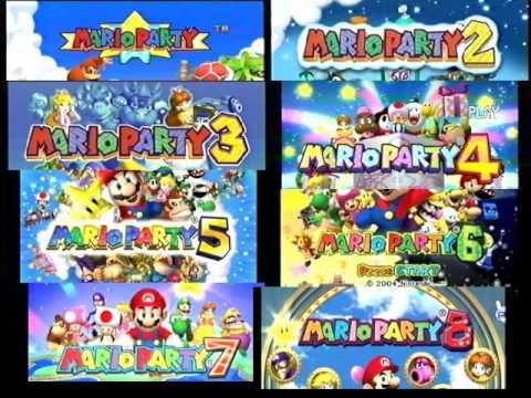 mario party 1 wii