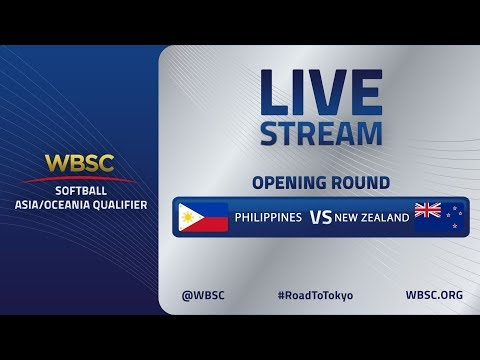 Philippines v New Zealand - WBSC Softball Asia/Oceania Qualifier - Opening Round