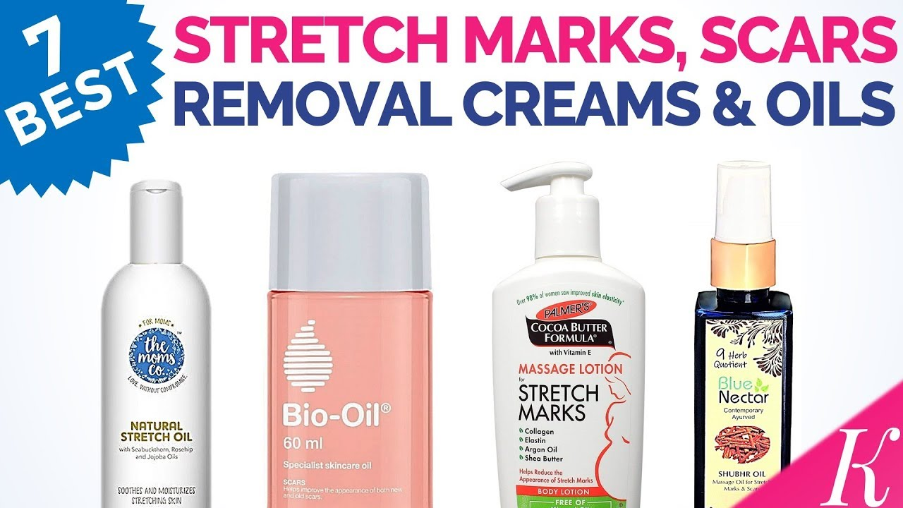 7 Best Stretch Marks Removal Creams And Oils In India With Price Youtube