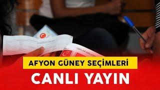 Afyon Sinan paşa Güney Beldesi Belediye seçimleri Sayım Başlıyor