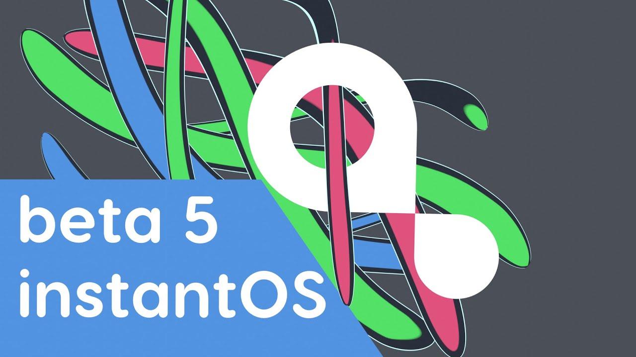 instantOS beta 5 release trailer