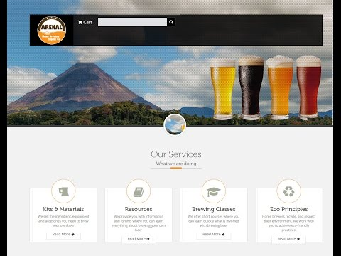 Arenal Home Brew Supply, Crowdfunding Presentation 20150702