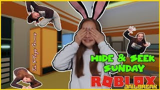 ROBLOX JAILBREAK WINTER UPDATE ! - ROBLOX JAILBREAK HIDE AND SEEK AND MORE ! - JOIN THE FUN ! - #272
