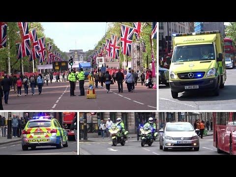 London Marathon 2017 - Emergency Services, Action and Escorts