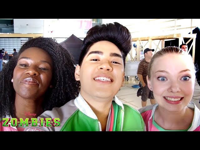 Behind the Scenes: ACEY CAM ???? | ZOMBIES | Disney Channel
