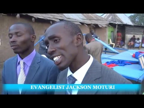 BONDENI ESTATE CRUSADE NAKURU & THE INTERVIEW SOUL WINNING TEAM KENYA