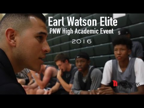 Earl Watson Elite PNW High Academic Event 2016