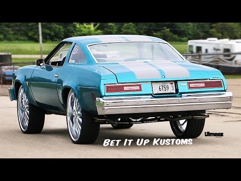BET IT UP!  '76 MALIBU CLASSIC 454CI ROLLIN ON 28'S! BYRON DRAGWAY!