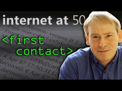 First Contact (Internet at 50) - Computerphile