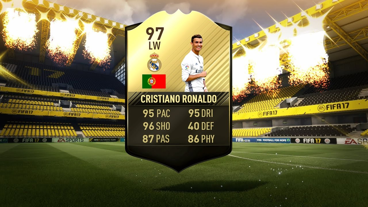 new product a7ae9 a2031 😱97 tif inform ronaldo in packs! 😱 (fifa 17 totw 28 pack opening