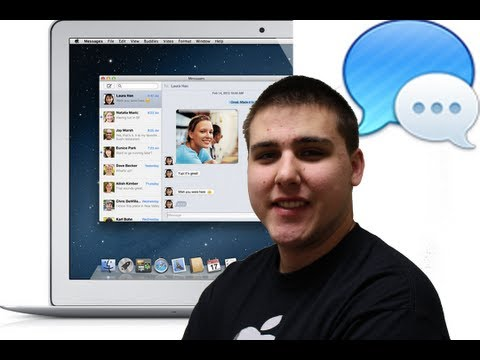Apple Messages Beta Replaces iChat Walkthough