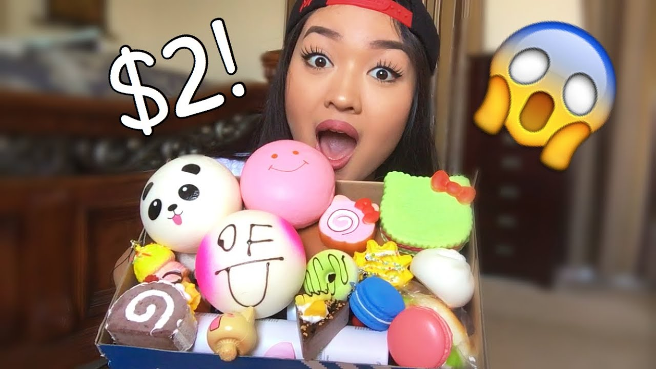 Squishy World : CHEAP SQUISHY PACKAGE! - YouTube