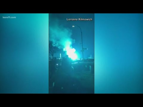 Not aliens...an explosion in New York City excited social media