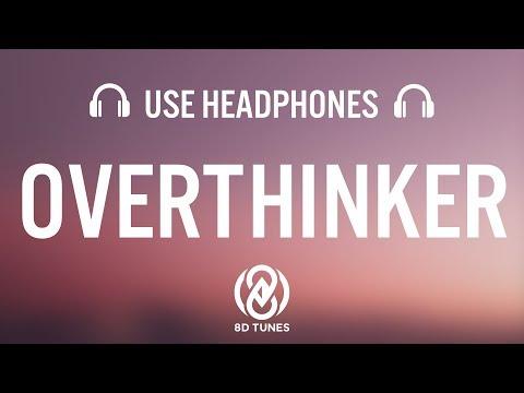 INZO - Overthinker (Lyrics / 8D AUDIO)