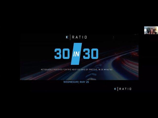 K-Ratio's JUNE 30 IN 30 Webinar Recording