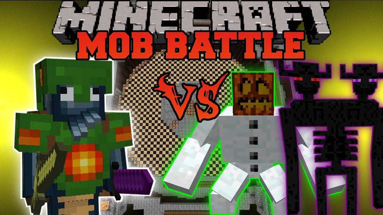 Triton Vs Ender Titan Mutants Amp Walker King Minecraft