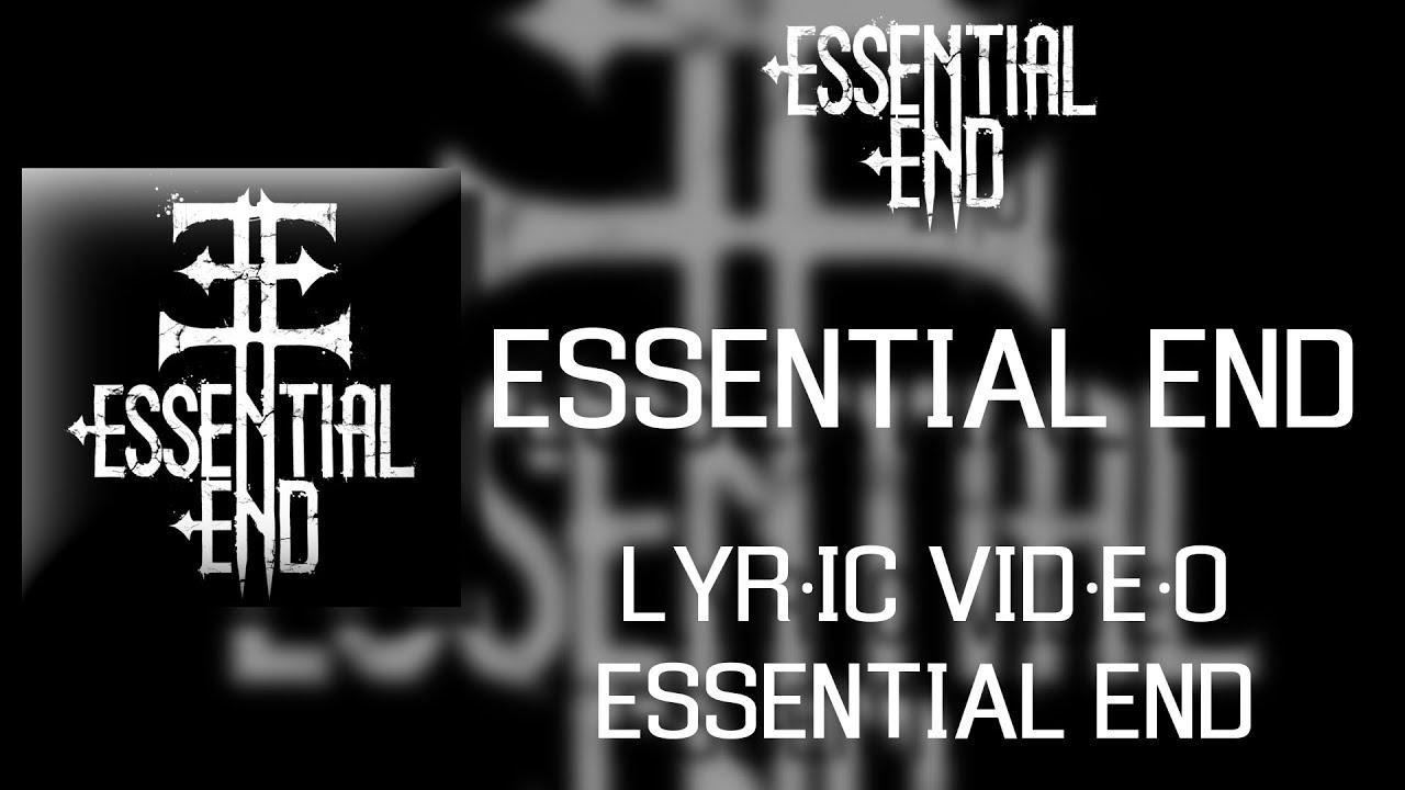 Hard Rock Metal Essential End Essential End Lyric Video Youtube