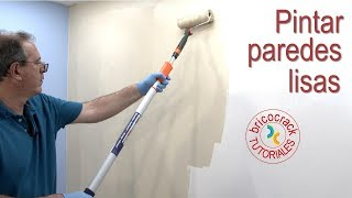 4 claves para pintar pared lisa profesional (Bricocrack)