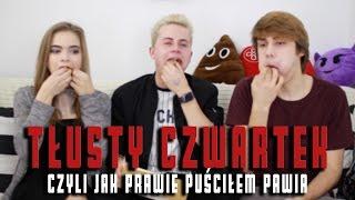 Tłusty Czwartek Challenge - czyli jak prawie puściłem pawia | Stysio & Pjotrek + Julia Wróblewska