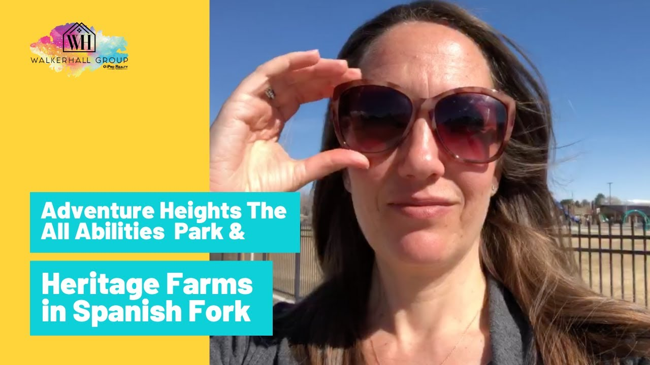 Adventure Heights The All Abilities Park & Heritage Farms by Arive Homes in Spanish Fork Utah County