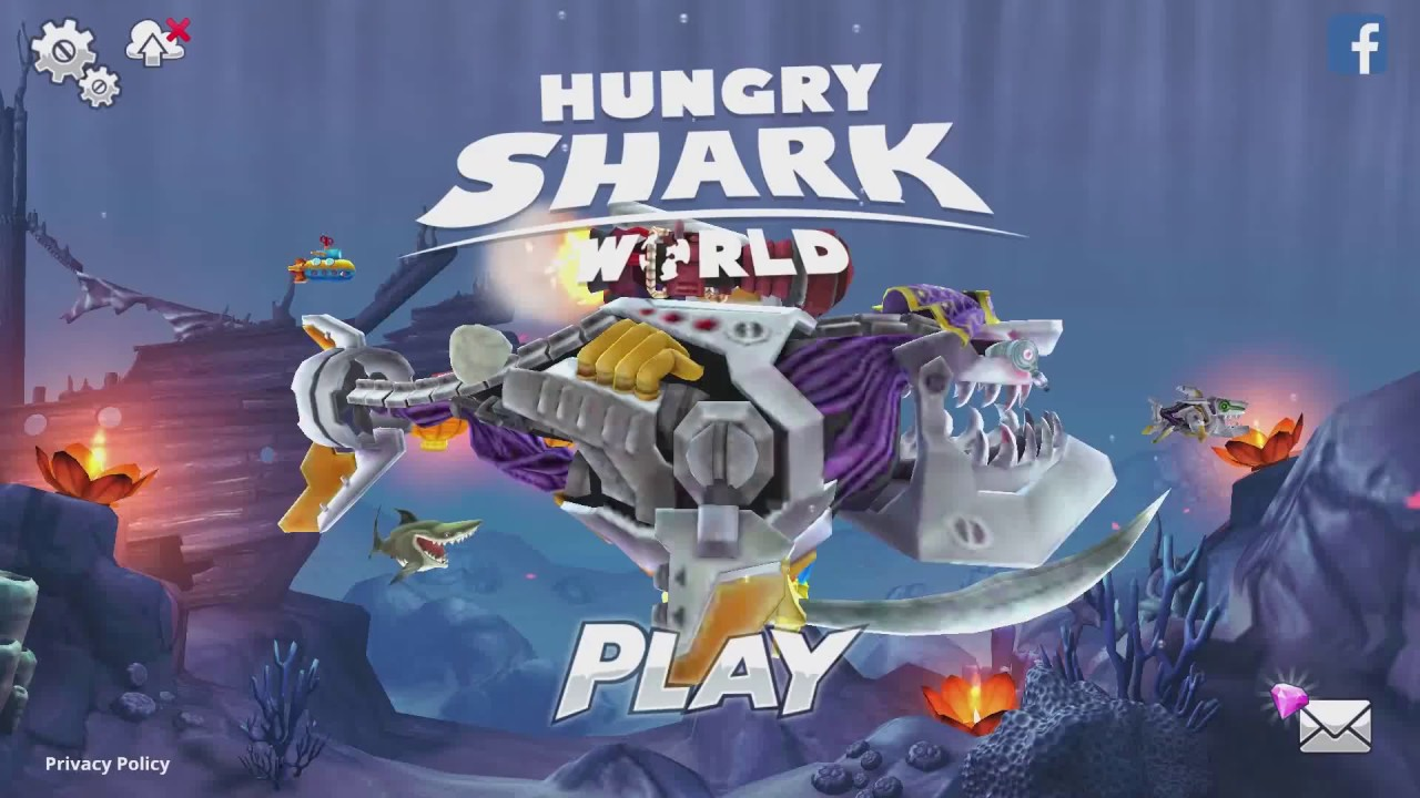 how to get robo shark in hungry shark world