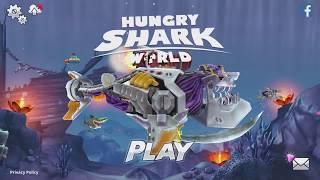 Hungry Shark World Robo Shark Android Gameplay #3