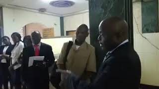 Kampyongo Catches Late Comers Off Guard at Lsk District Office