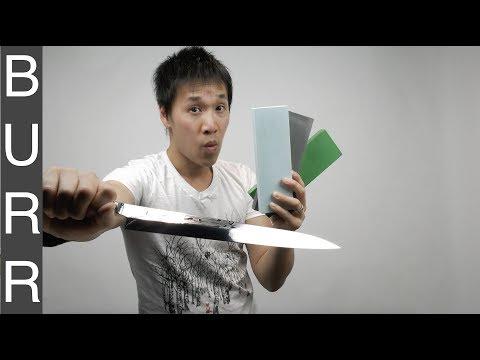 Sharpening Shun Pro Yanagiba One Of World's Most Beautiful Knife