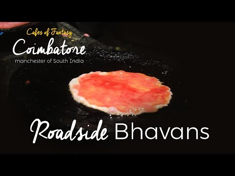 20 Years Old Food Stall | Roadside Bhavans | Coimbatore special | Foody Dudey Do