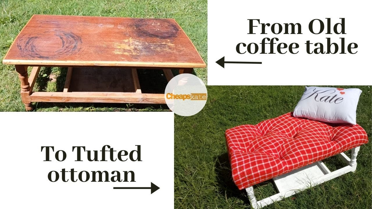 diy how to turn an old coffee table