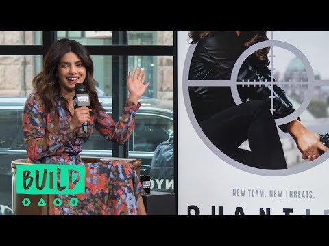 "Priyanka Chopra Chats About ABC's ""Quantico"""