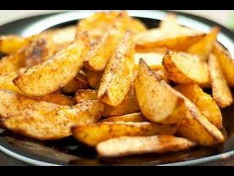 Запеченная картошка по деревенски