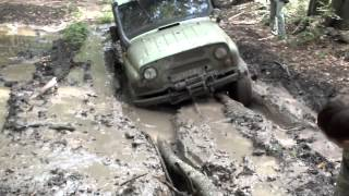UAZ Hunter+УАЗ 469+Lada Niva+Suzuki Jimny off-road!