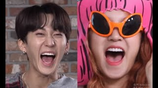 Kpop Idols Funny Laugh Compilation (2)