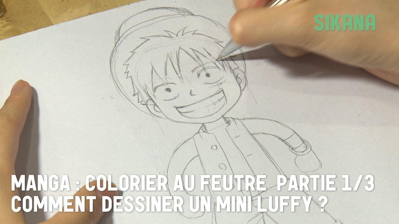 Luffy de one piece 1 dessiner dessiner des personnages - Image manga fille triste ...