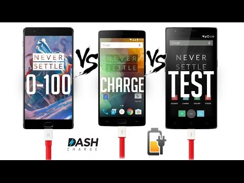 Oneplus 3 Vs 2 Vs 1 - Charging Test (Dash Charge Vs Others)