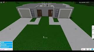 Roblox Bloxburg Spee-build | Apartment building | 59K |