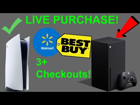 PS5 & Xbox X Live Cop on Walmart and Bestbuy! (Purchasing Live)