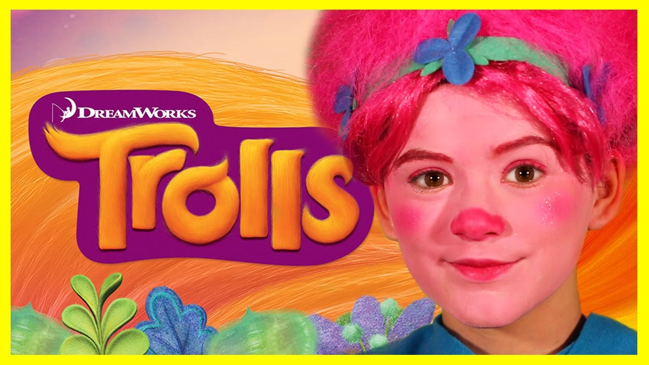 TROLLS POPPY MAKEUP TUTORIAL! | COSTUME DIY HALLOWEEN COSPLAY | KITTIESMAMA - YouTube  sc 1 st  YouTube & TROLLS POPPY MAKEUP TUTORIAL! | COSTUME DIY HALLOWEEN COSPLAY ...
